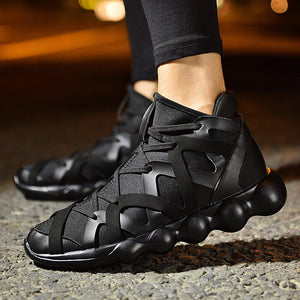 Outdoor Walking Hip-Hop High Shoes