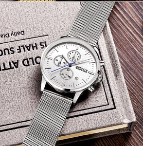 Stainless steel Mesh watch