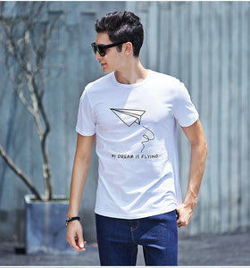Summer comfortable male t-shirt