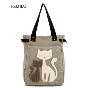 Cute Cat Tote Bag