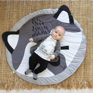 Fox Baby Round Carpet