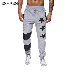 Star Printed Male Sweatpants