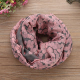 Soft Cotton Long Neck Scarf
