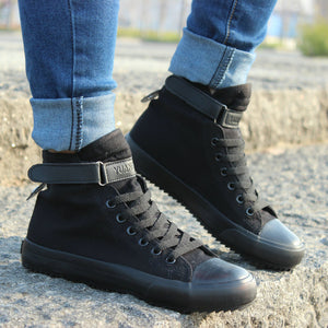 Breathable High-top Lace-up Canvas
