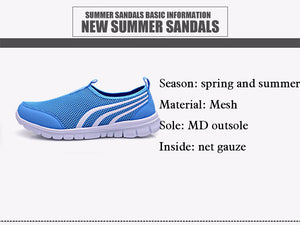 Fashion light breathable mesh shoes