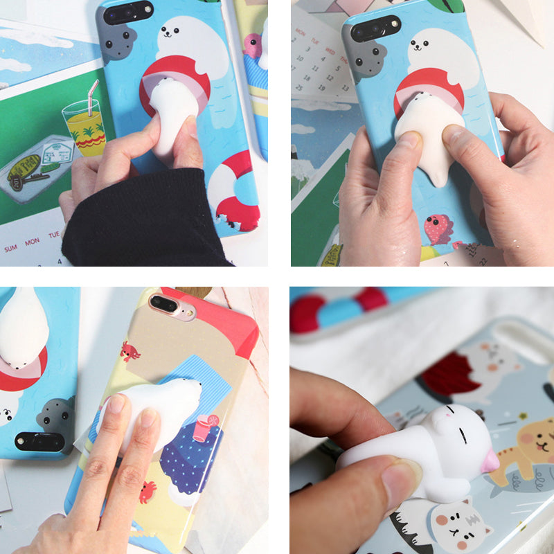 Squishy 3D Mini Soft Silicone Cartoon