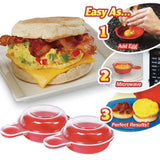 Microwave Eggwich Cooking Tool