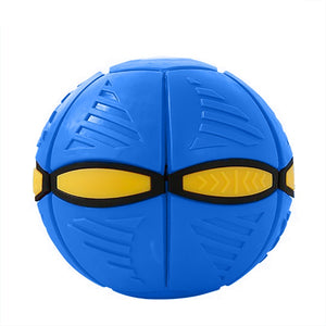 UFO Frisbee ball deformation
