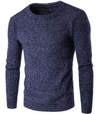 Simple Slim Fit Knitting Men's Sweater