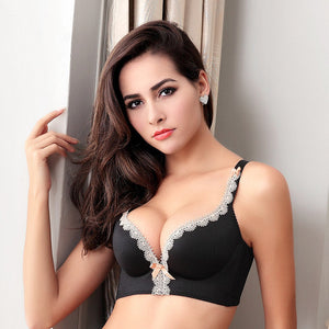 Thick Padded lace pushup bra