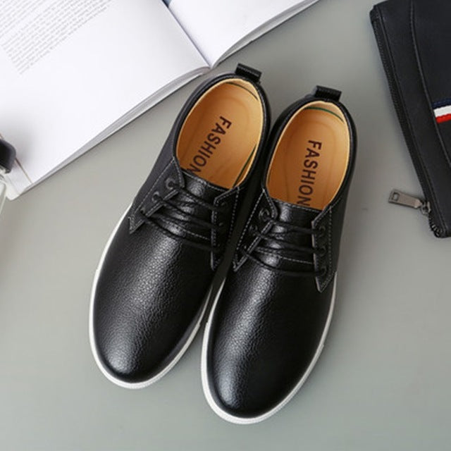 Cow Split Soft Leather Shoes