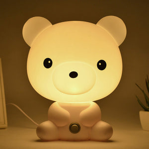 Cartoon Light Kids Bed Lamp
