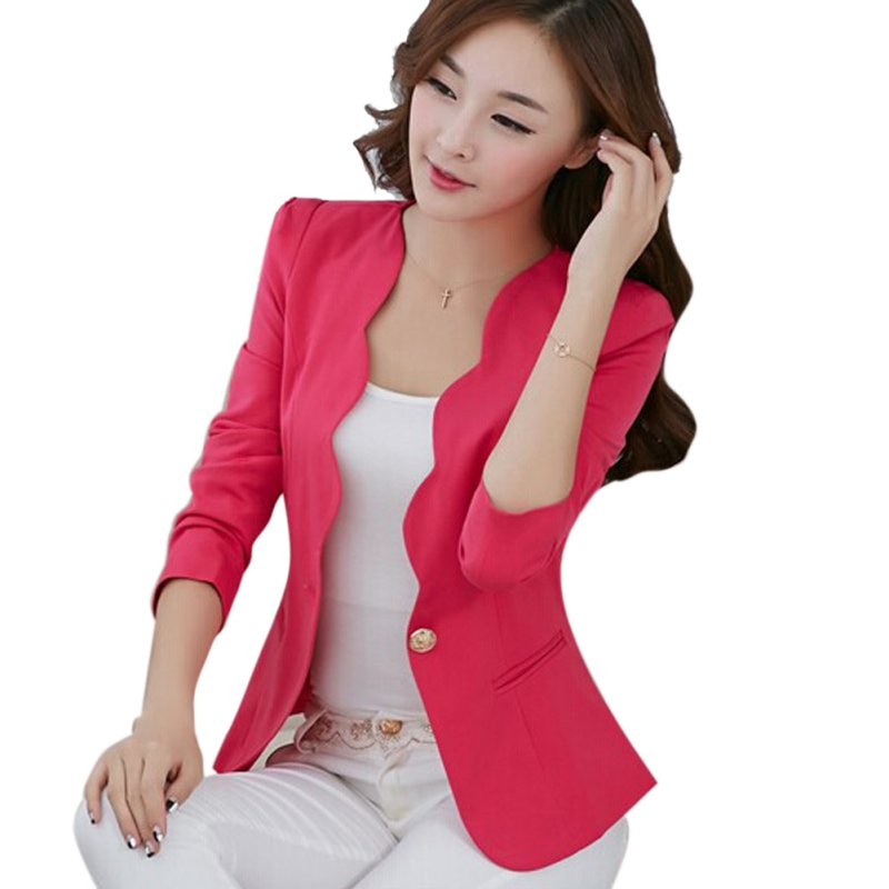Business Button Jacket
