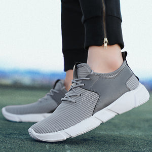 Breathable Lace-Up Walking Shoes