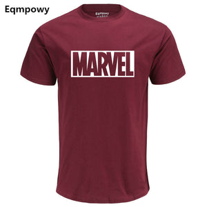 MARVEL cotton short sleeves tshirt