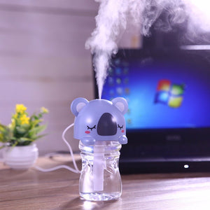 Cute Animals Air Humidifier with LED Lamp