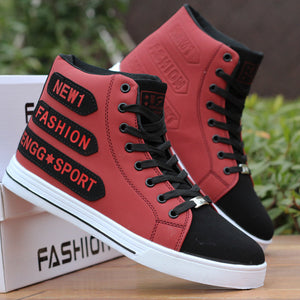 Leather Punk Hip Hop Shoes