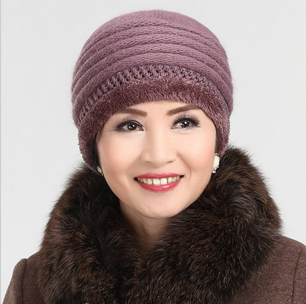 Winter fur hat cap