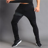 Workout elastic waist pants