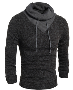 Hedging Turtleneck Men'S Sweater