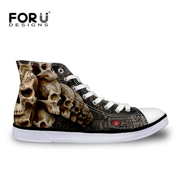 3D Loundspeaker High Top Vulcanize Shoes