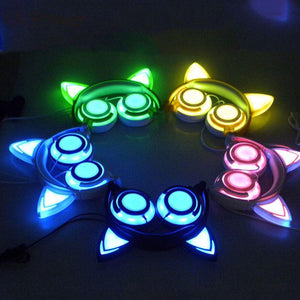 LED Cat Ear Headset