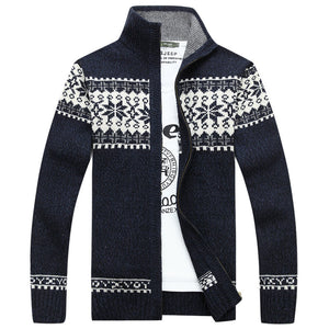 Snowflake Pattern Sweater