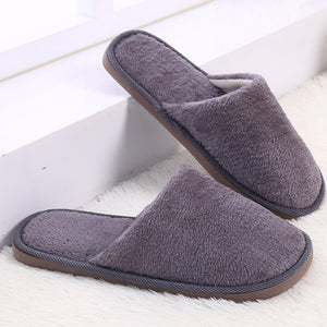 Classic plush faux fur indoor slippers