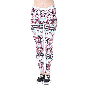 Print Gothic Stretchy Leggings