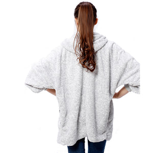 Two-Tone Poncho Capes