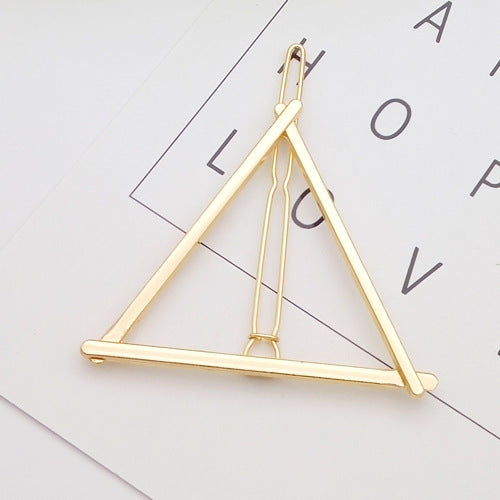 Triangle Moon Hair Pin