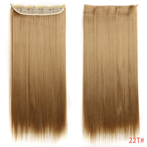 Straight Women Clip in Hair Extensions