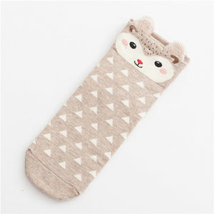 Winter Warm  3D Animal Socks