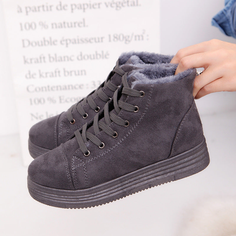 Warm Snow Ankle Boots