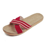 Linen Hemp Sweat-absorbent Slipper