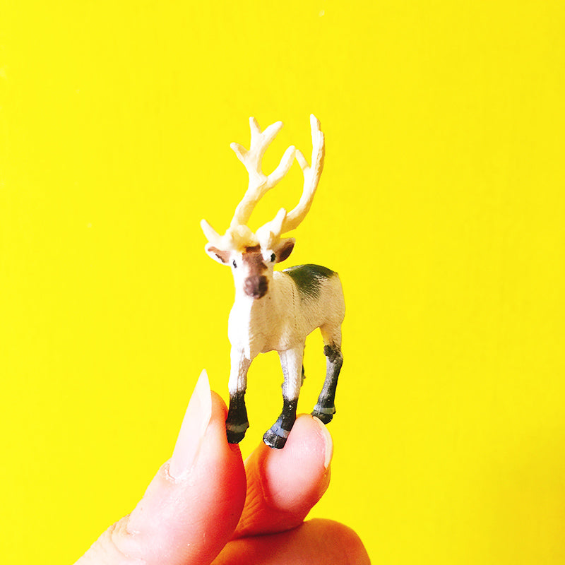cute deer miniatures animal