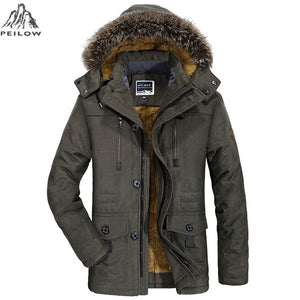 Thick Windproof Hood jacket