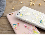 iphone 7 CaseGradient Flowers Grass Case  iphone 6S 6 7 PLus