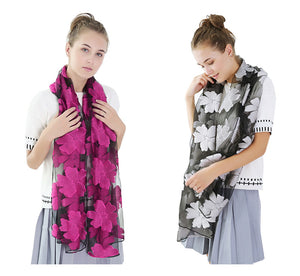 High-quality organza lady elegant wraps