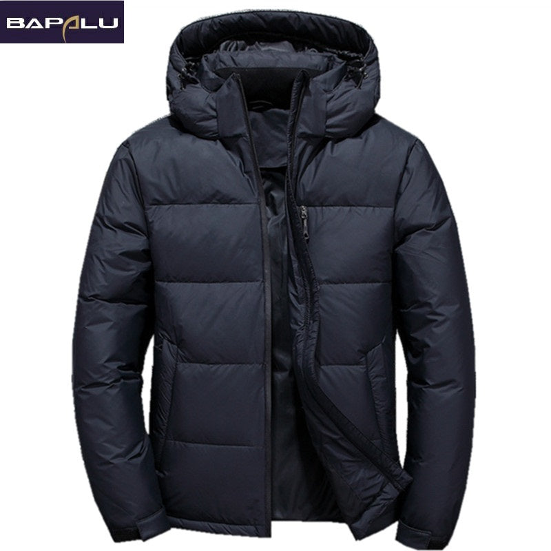 Thick Parka Men jacket
