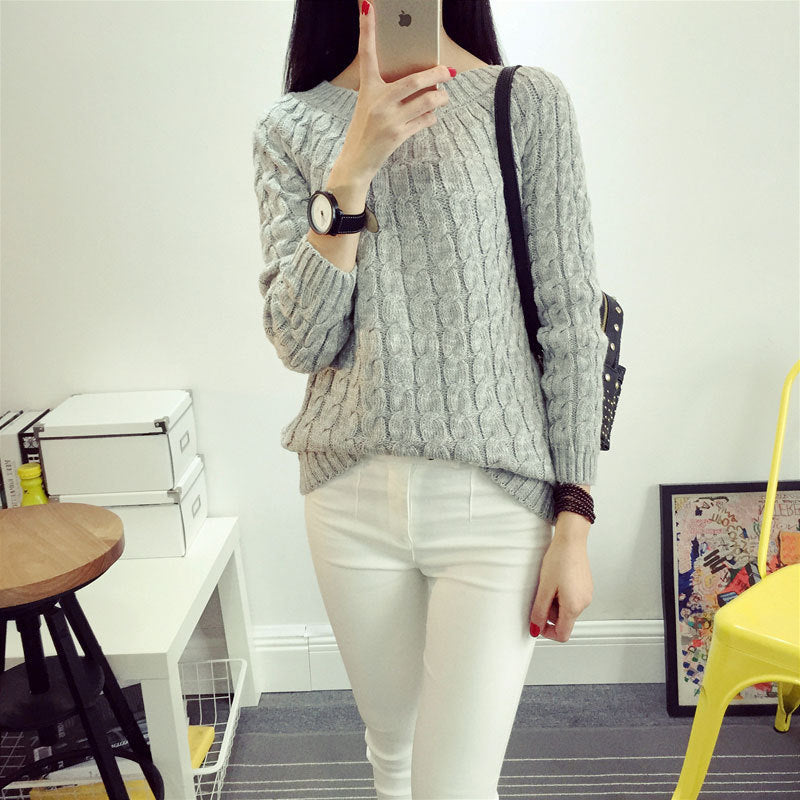 Twist Knitted Sweater