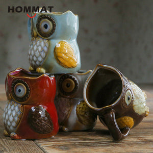 Night Owl Ceramic Coffee Cup