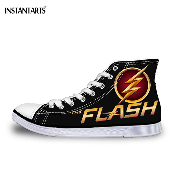 3D Super Hero The Flash Man Shoes