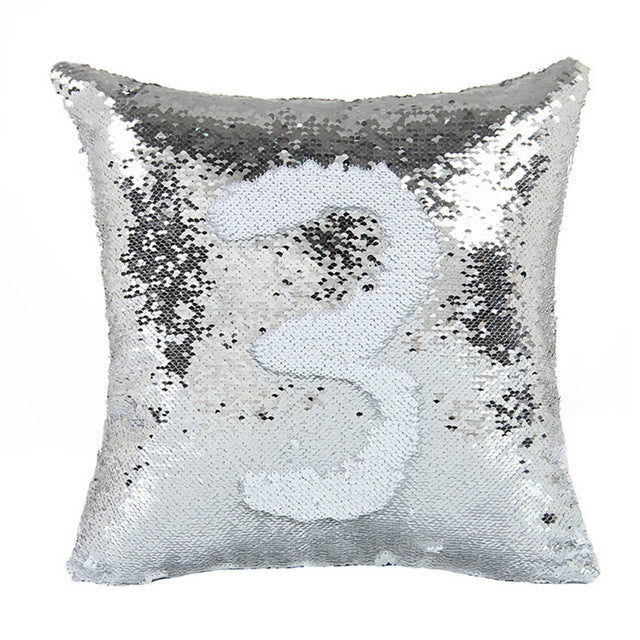 Reversible Sequin Magical Pillow