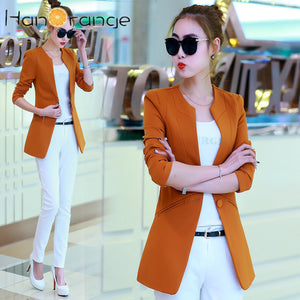 Slim Fit Women Blazer