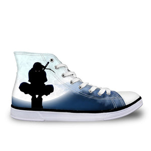 High-Top Vulcanized Shoes