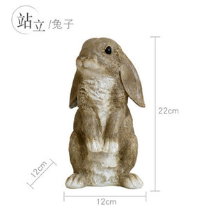 Brown Bunny Rabbit Ornament