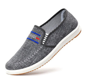 Breathable comfortable men's shoes