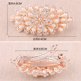 Trendy Simulation-Pearl Hairpins