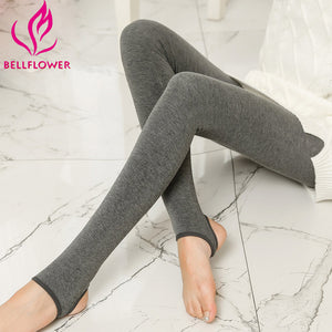 Cashmere Foot Wear Elastic Pants